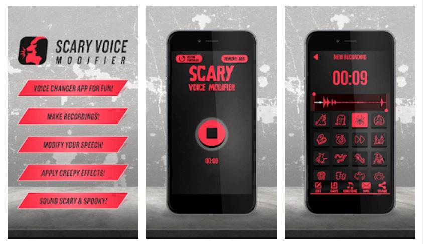 Cambiadores de voz al llamar