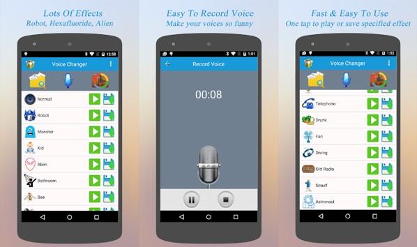 cualidades de mejor cambiador de voz