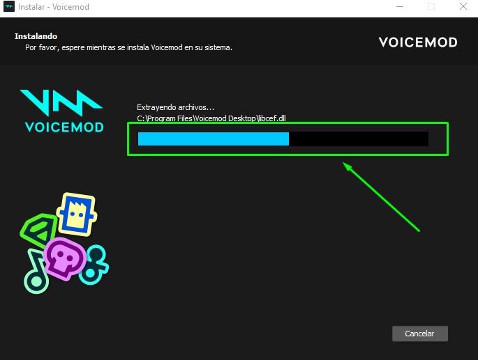 descarga del modulador voicemod
