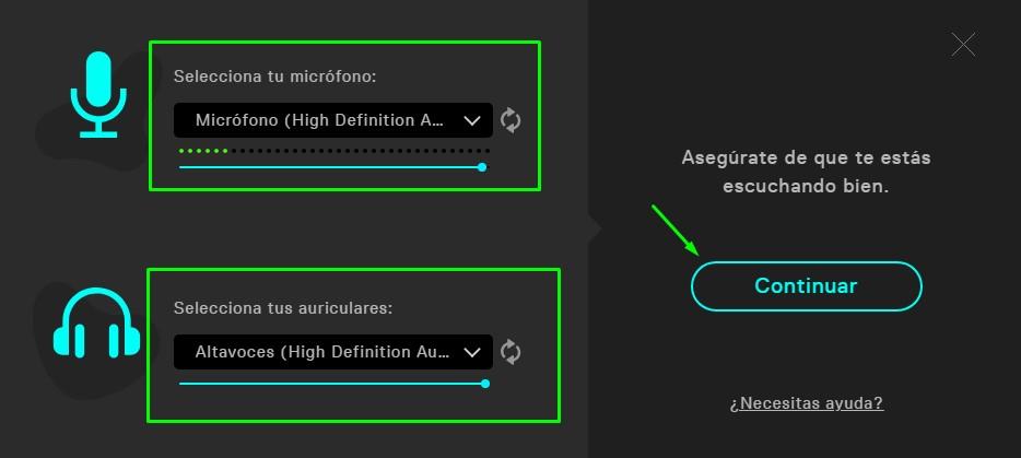 configurar sonido en voicemod