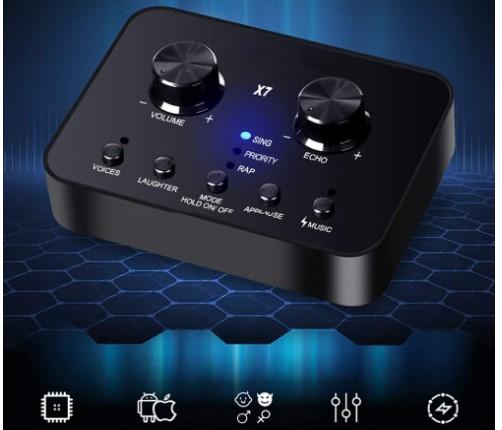 distorsionador de voz portatil