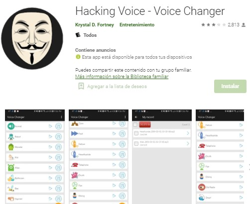 hacking voice