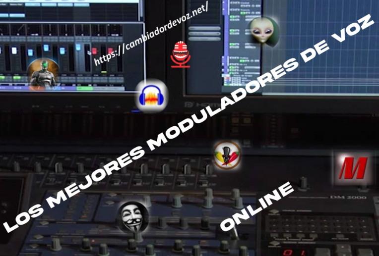 Modulador de voz online