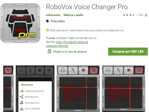 modulador de voz para llamadas