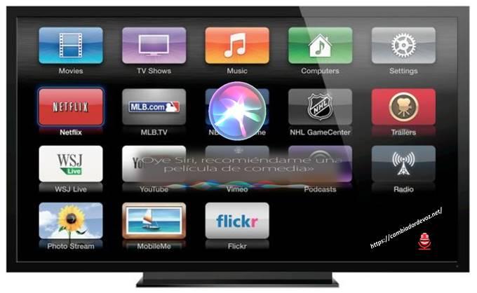 cambiar genero de siri en apple tv