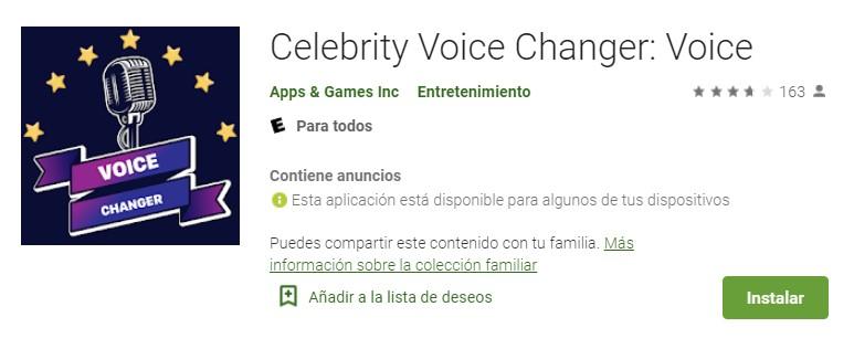 Celebrity Voicer