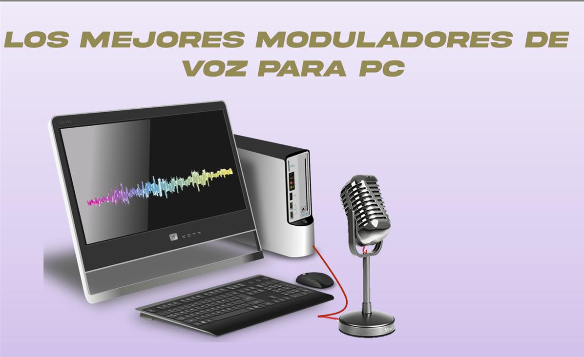 modulador de voz para pc